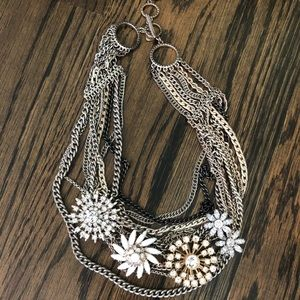 Stella & Dot Mixed Metal necklace
